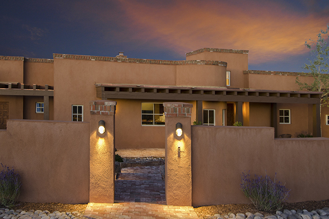 Santa fe style home construction home design and style for Santa fe style homes